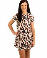Leopard Knit Tunic