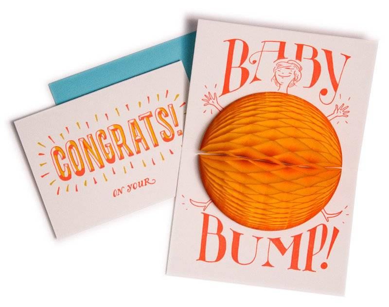 Baby Bump Surprise Card