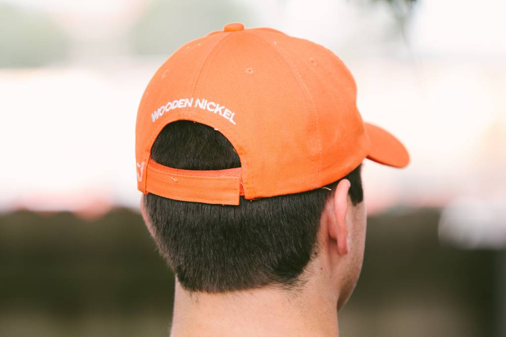 Wooden Nickel Varsity Hat