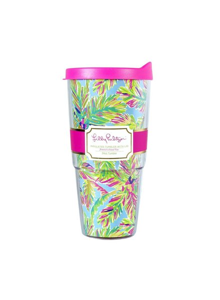 Lilly Pulitzer Island Time Insulated Tumbler
