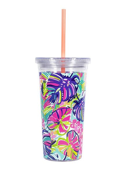 Lilly Pulitzer Exotic Garden Tumbler