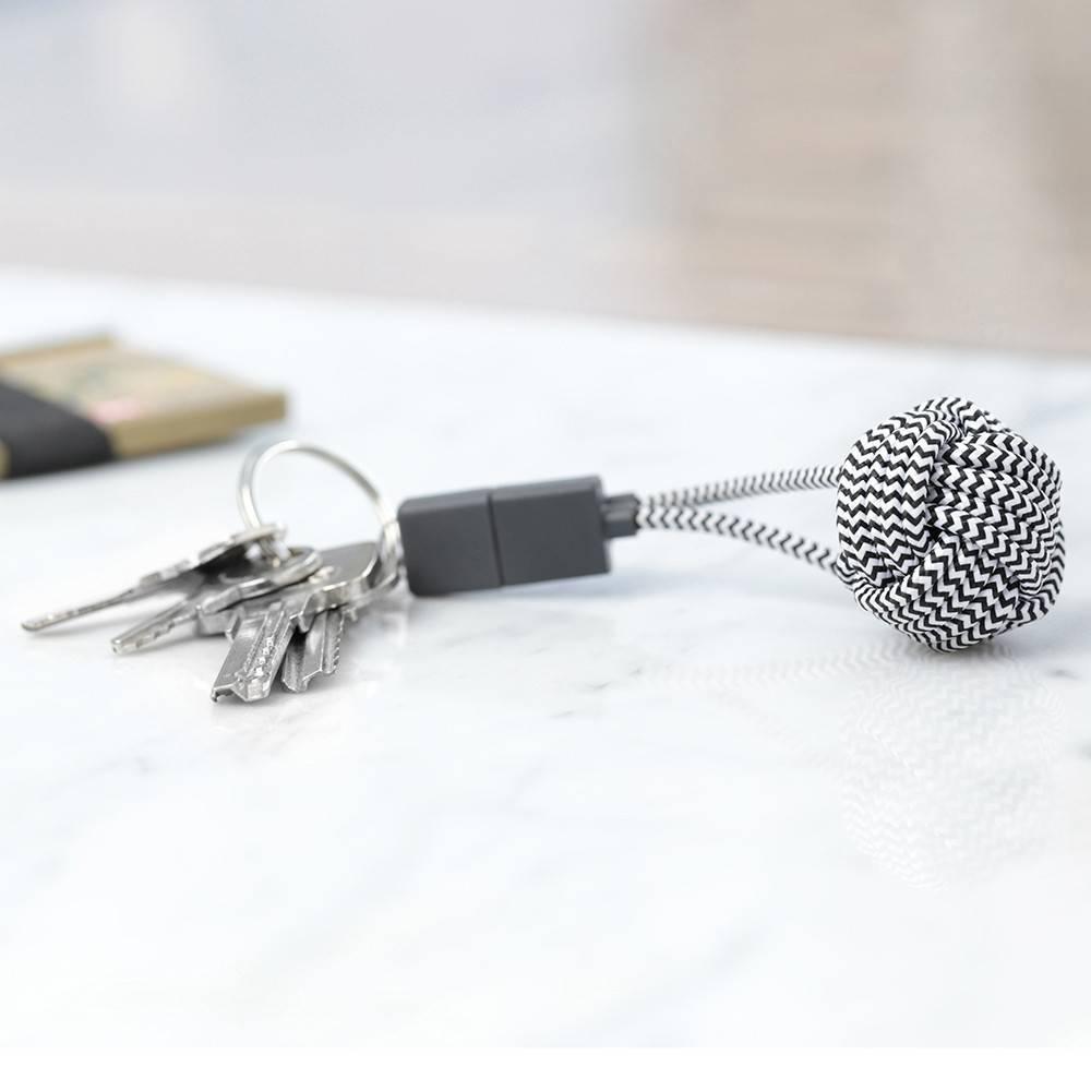 Native Union Zebra Lightning Key Cable