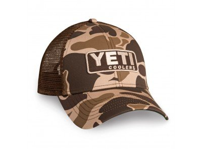 YETI Custom Camo Hat with Patch