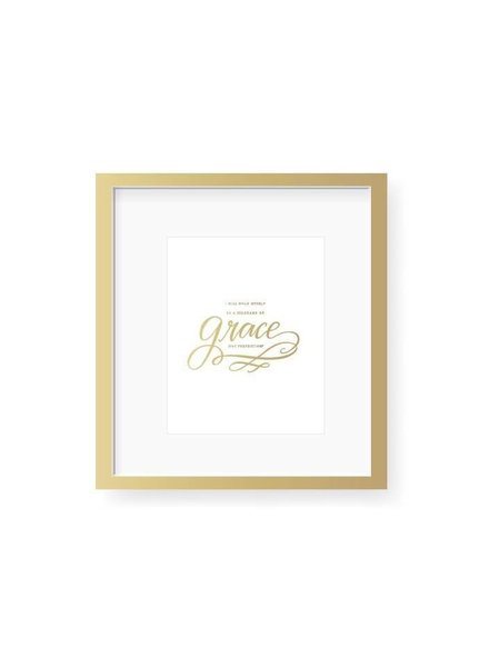 Emily Ley Grace Not Perfection Art Print
