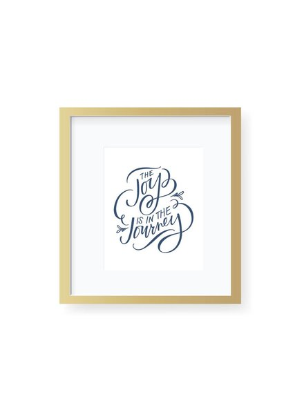 Emily Ley Joy in the Journey Art Print