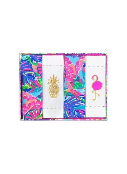 Lilly Pulitzer Exotic Garden Cocktail Napkins