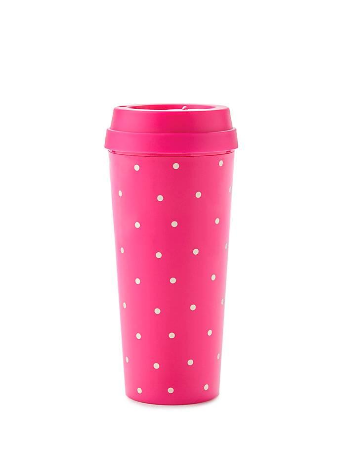 Pink Larabee Dot Thermal Mug