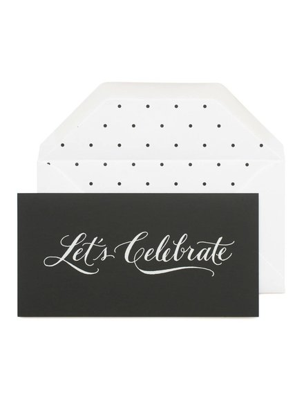 Sugar Paper Let's Celebrate Greeting Card