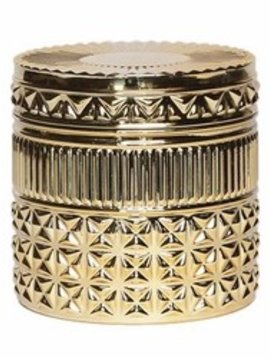 Gilded Muse 11 oz Faceted Jar Candle