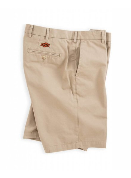 Peter Millar OSU Collegiate Winston Washed Twill Short