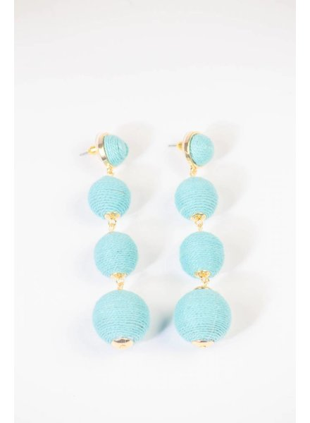 Small Bon Bon Earring - Sky Blue