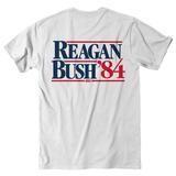 Rowdy Gentleman Reagan Bush '84 S/S Pocket Tee