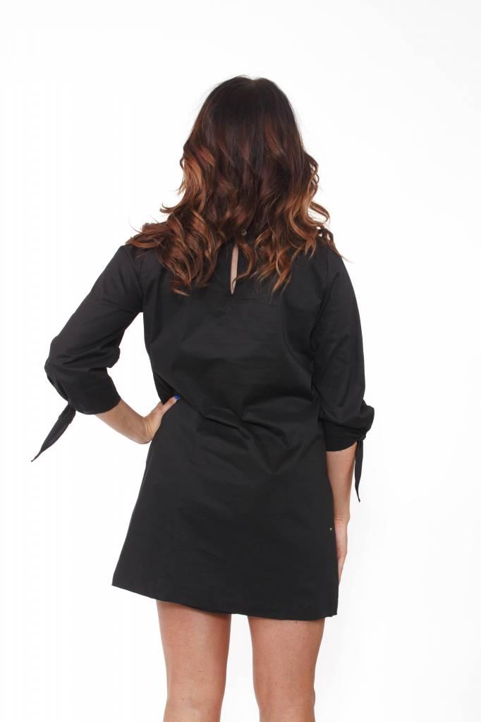 Tie Sleeve Detail Dress