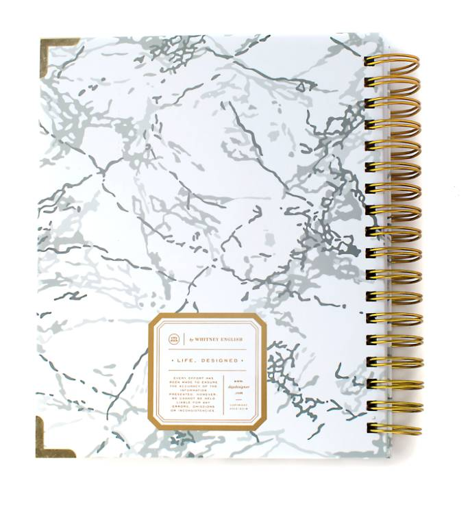 Day Designer Day Designer June Edition White Marble