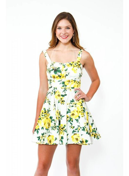 IXIA Tie Back Floral Dress