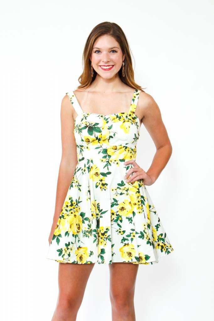 IXIA Tie Back Floral Dress