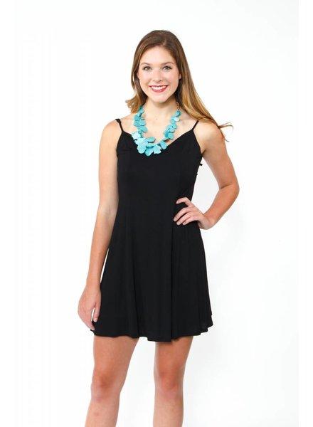 Knit Swoop Back Dress