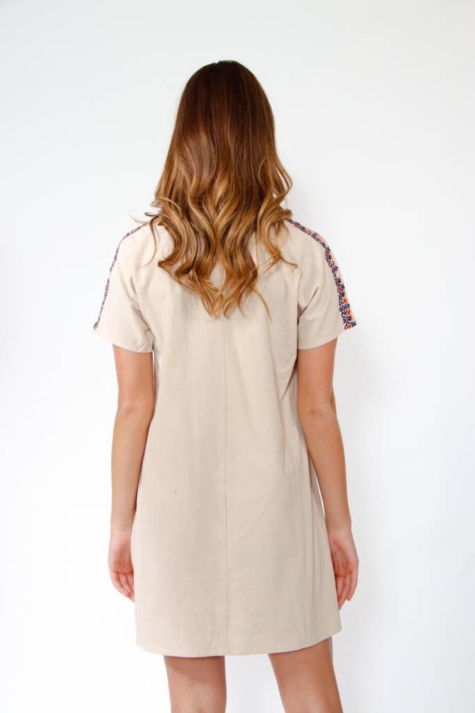 THML S/S Embrdrd Dress