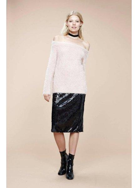 Mink Pink Florentine OTS Sweater