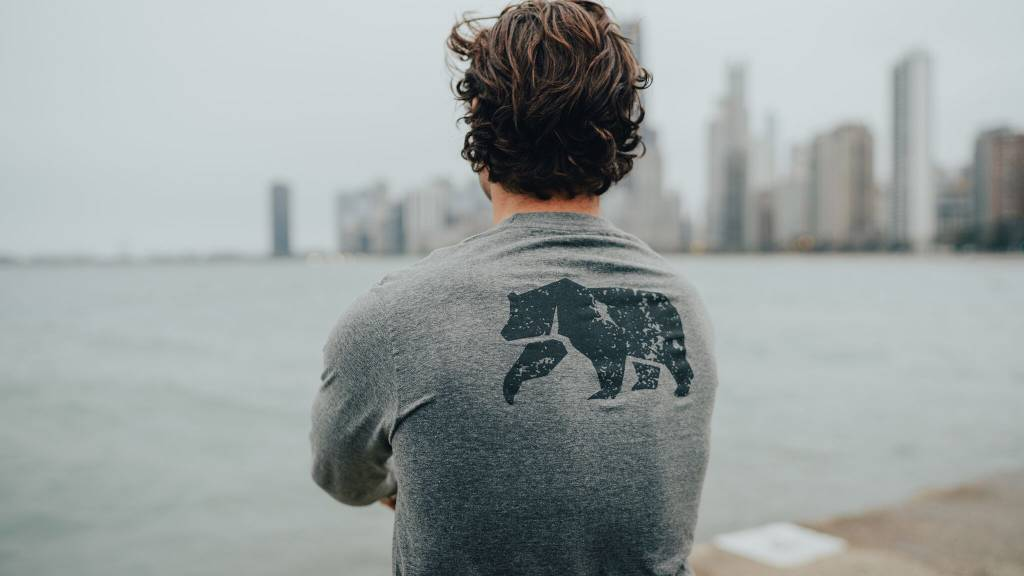 The Normal Brand L/S Vintage Bear T
