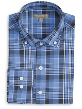 Peter Millar Pops Performance Plaid Woven