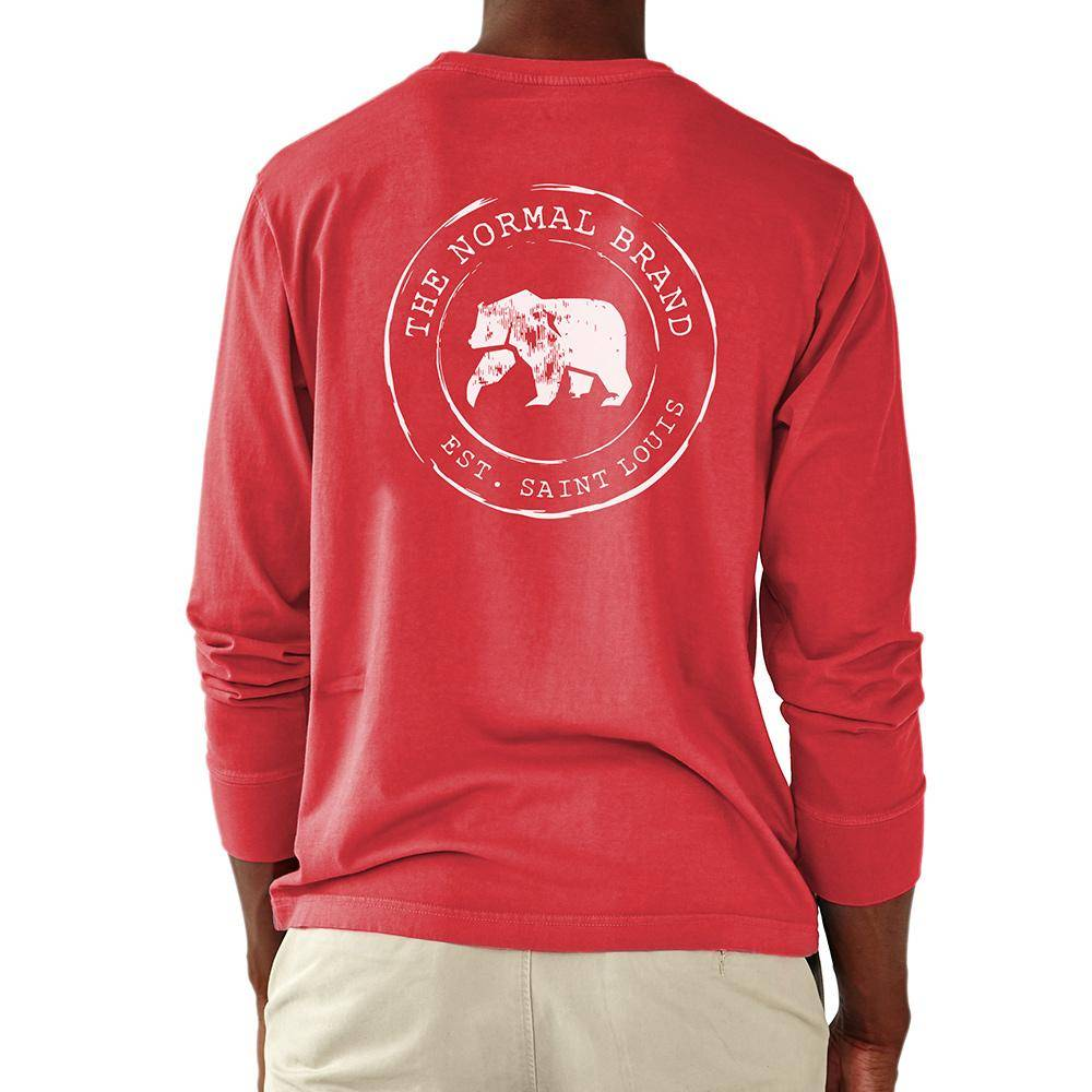 The Normal Brand L/S Circle Back T