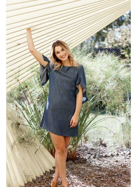 S/S Ruffle Dress