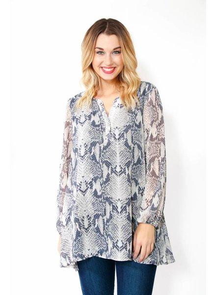 Adrienne L/S Tunic Dress