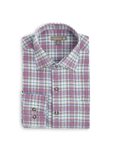 Peter Millar Courtney Performance Plaid Flannel