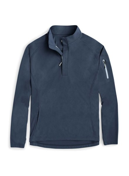 Peter Millar Whisper Light-Weight Suede 1/4 Zip