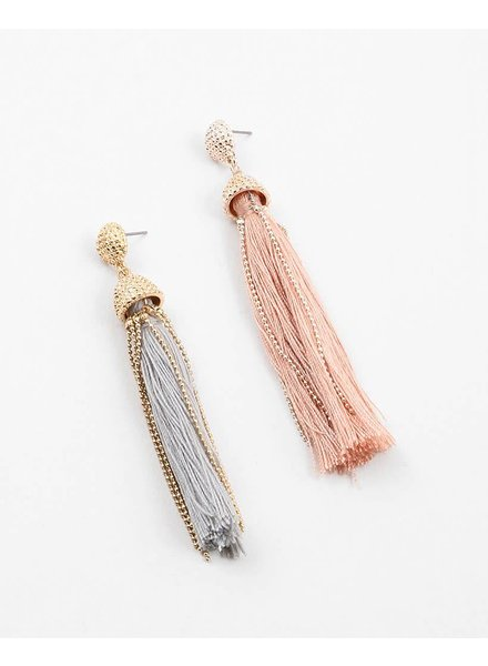 Chain Tassel Earring
