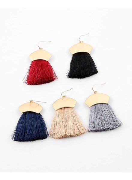Fringe Benefits Earring
