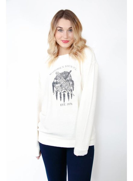 WN Flag Fuzzy Sweatshirt