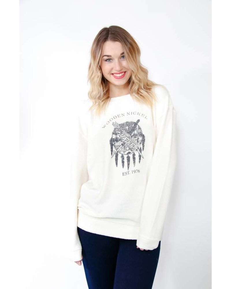 WN Flag Fuzzy Sweatshirt