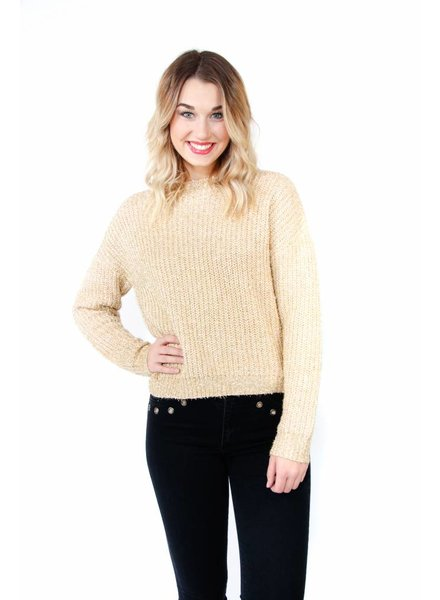 English Factory Sparkling Knit Sweater