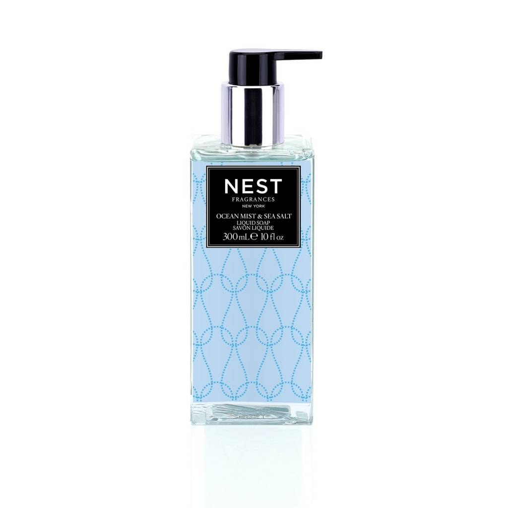 NEST Fragrances Ocean Mist and Sea Salt Liquid Soap 10 fl. oz.
