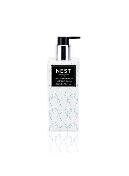 NEST Fragrances Ocean Mist and Sea Salt Hand Lotion 10 fl. oz.