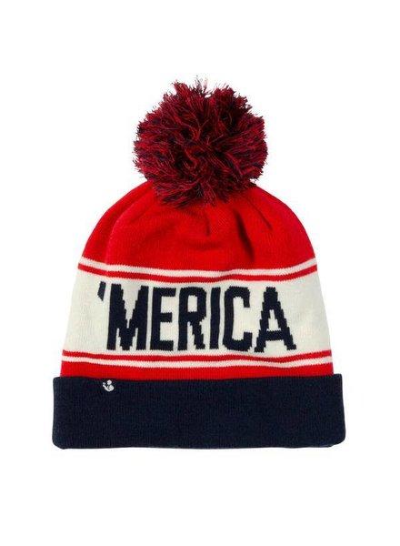 Rowdy Gentleman Merica Beanie Hat