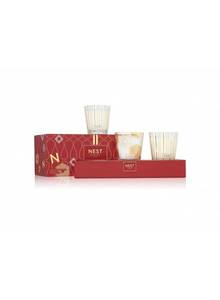 Holiday Petite Trio Candle Set