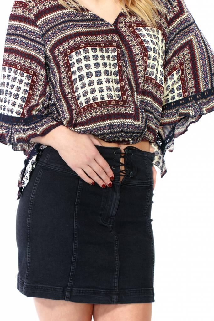 Free People Modern Femme Corset Skirt
