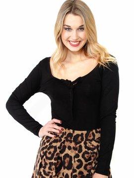 Amuse Society Libra Knit Bodysuit