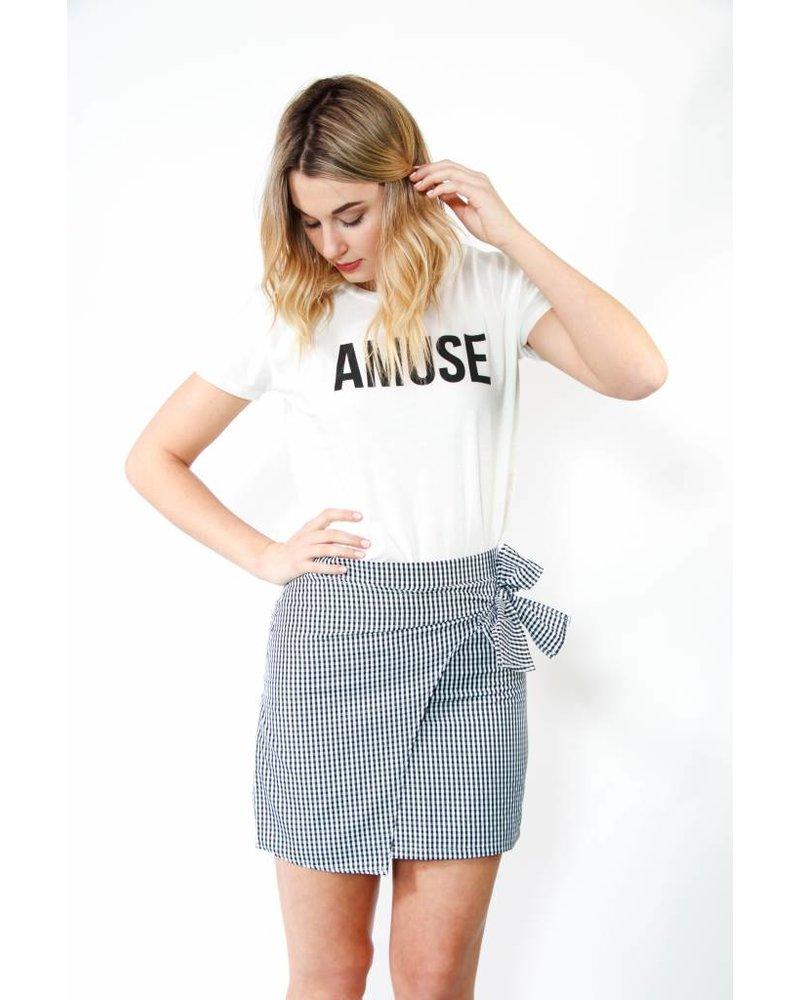 After Market Woven Skirt