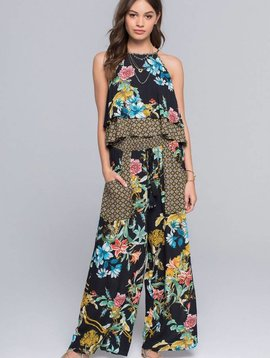 Band of Gypsies Tropical Tassle Pant