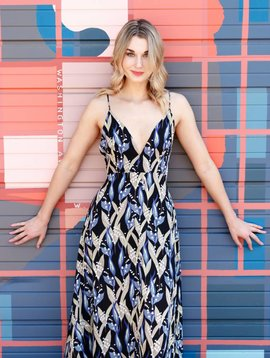 Love + Harmony Wrap Maxi Dress