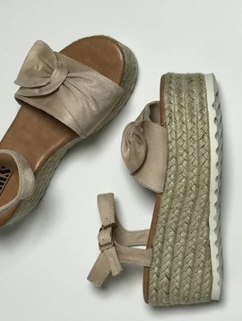 BestOn Bowknot Platform Sandal