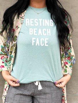 Vintage Soul Resting Beach Face