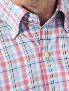 Peter Millar Crown Ease Aloha Plaid