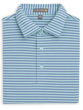 Peter Millar Tygra Stripe Stretch Mesh