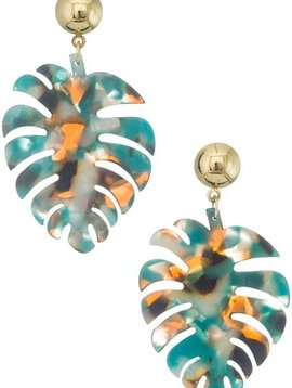 Wooden Nickel Exclusive Turquoise Multi Palm Springs Earring