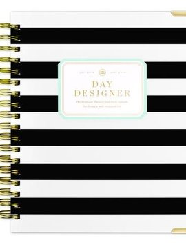 Day Designer July 2018 Day Designer Black Stripe